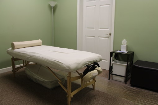Acupuncture Table by Back in Shape Chiropractic