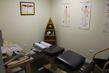 Physiotherapy Room by Back in Shape Chiropractic